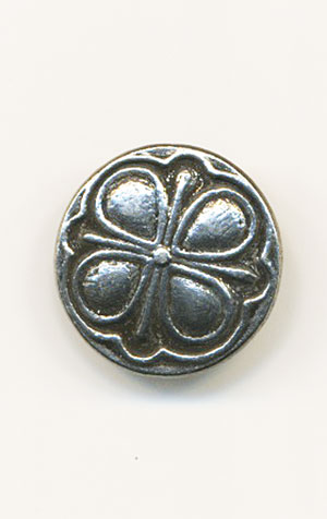CLOVER Pewter Button