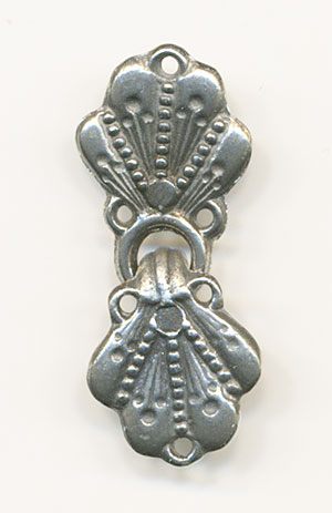GRY  Pewter Clasp