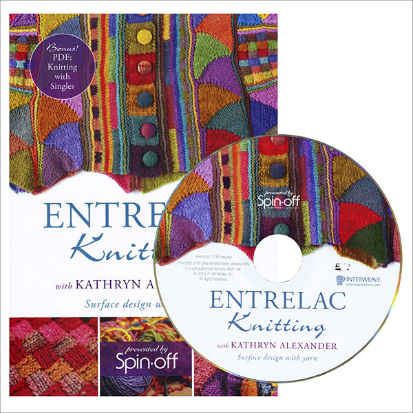 Entrelac Knitting Pattern Books : Entrelac Knitting DVD from KnitPicks.com Knitting by ...