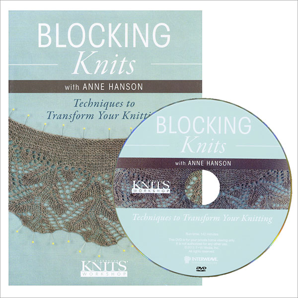 Blocking Knits DVD