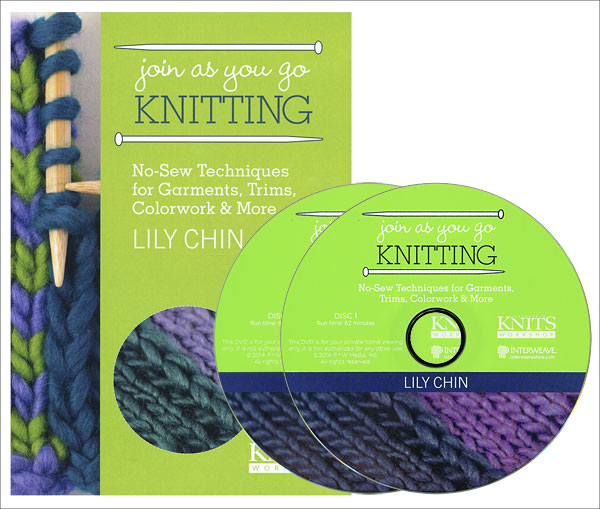 Join as You Go Knitting DVD - Interweave Knits Workshop
