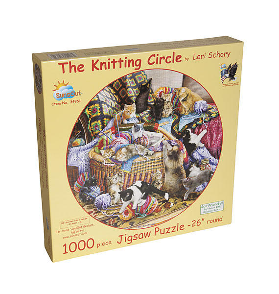 The Knitting Circle Jigsaw Puzzle From Knitpicks Com