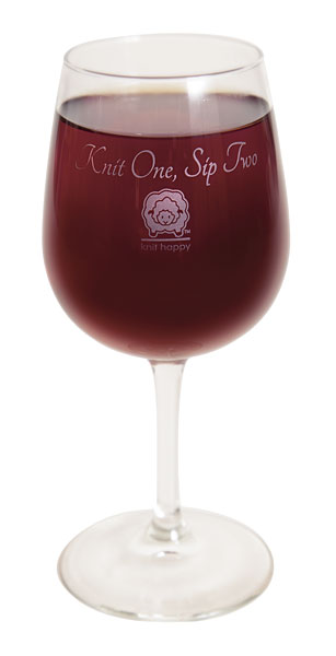 Two Sips Wine Glass
