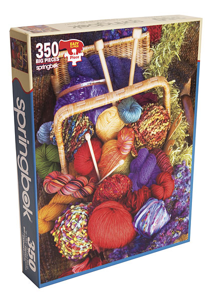 Knitters Delight Jigsaw Puzzle