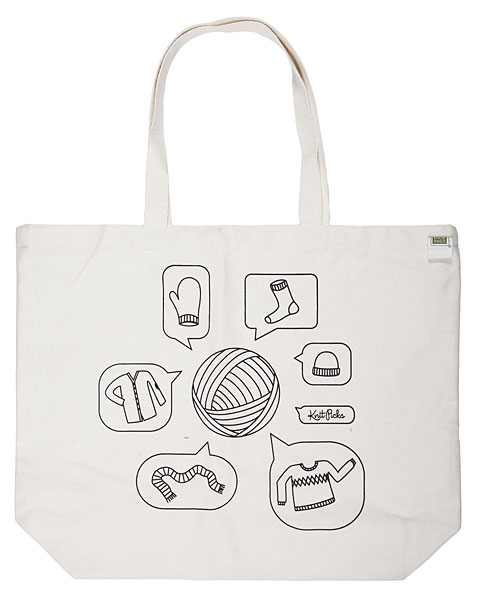 Yarn Talk Tote Bag