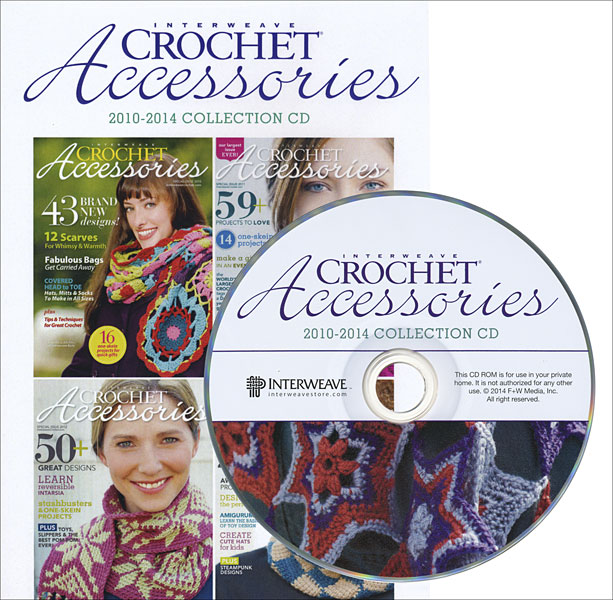 Interweave Crochet Accessories 2013-2014 Collection CD