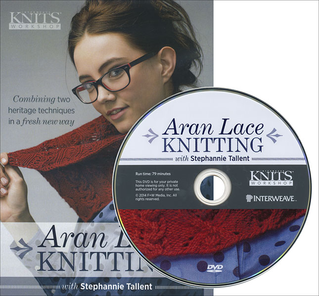 Aran Lace Knitting DVD