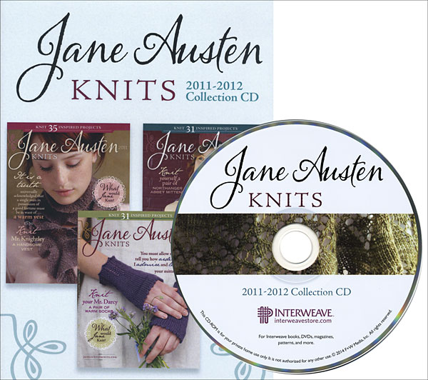Jane Austen Knits 2011-2012 Collection CD