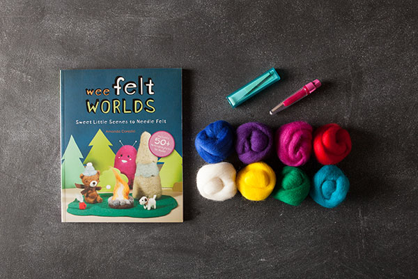 Cutie Needle Felting Kit