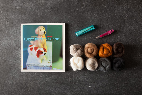 knitting kits for needle felting