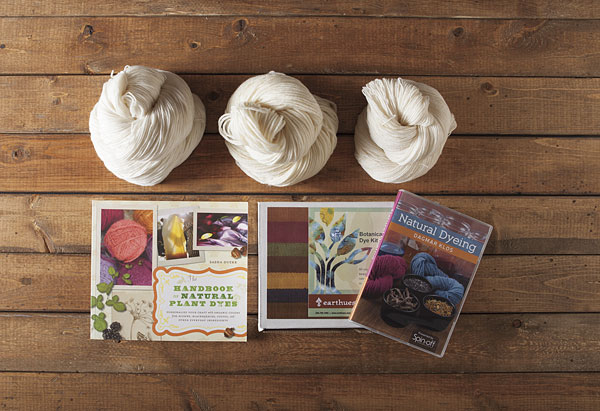 Earthues Natural Yarn Dyeing Kit