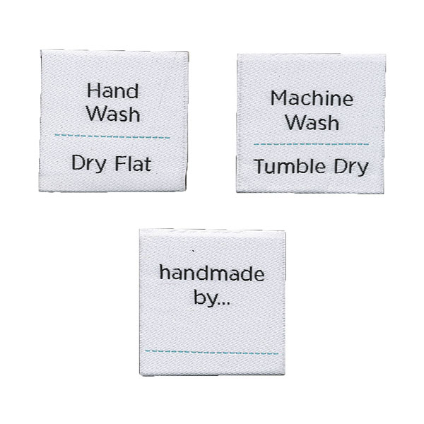 Instruction Labels - set of 6