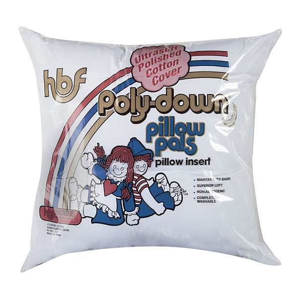 Hobbs 16 x 16 Poly-Down Pillow Insert