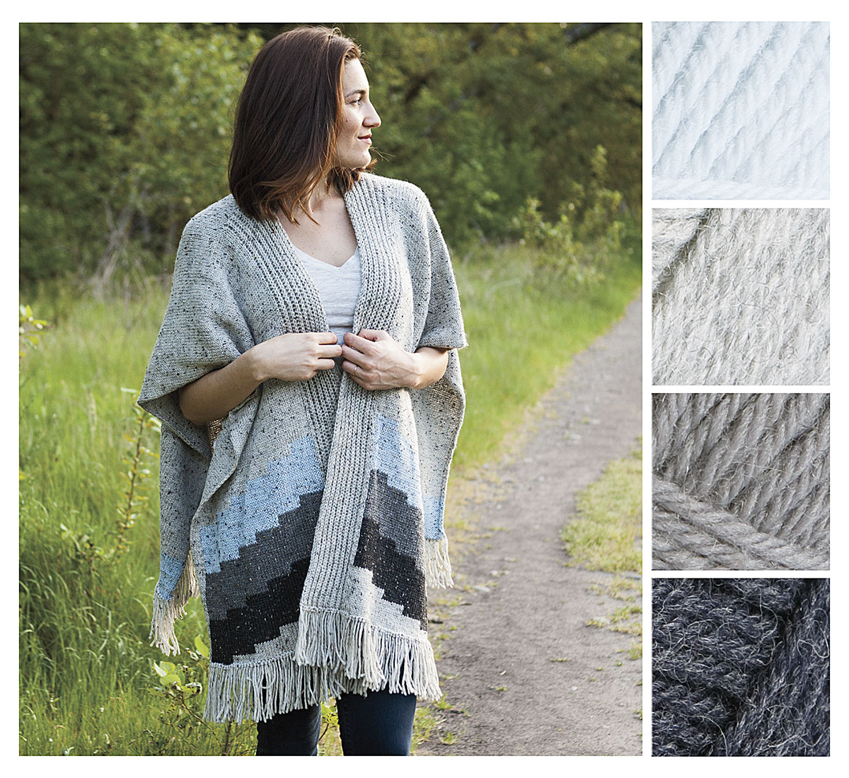 Oakwood Poncho Wool Gatherer Kit