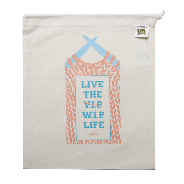 Live the W.I.P. Life Project Bag