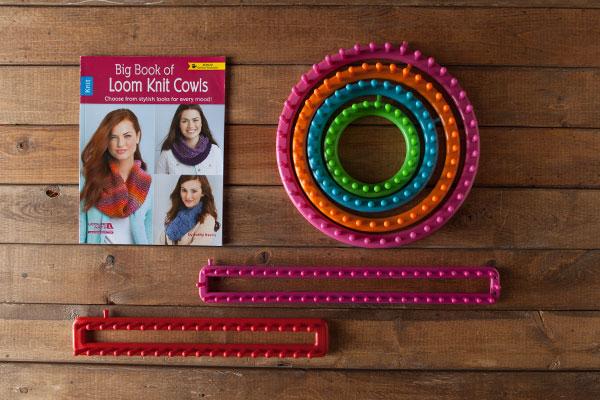 Loom Knitting Kit : Loom knitting kit from knitpicks