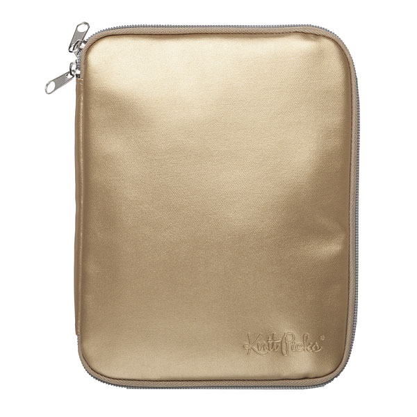 Knit Picks Interchangeable Needle Case - Gold