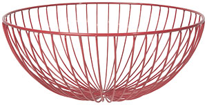 Hemisphere Basket - Red