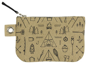 Adventure Awaits Small Zipper Pouch