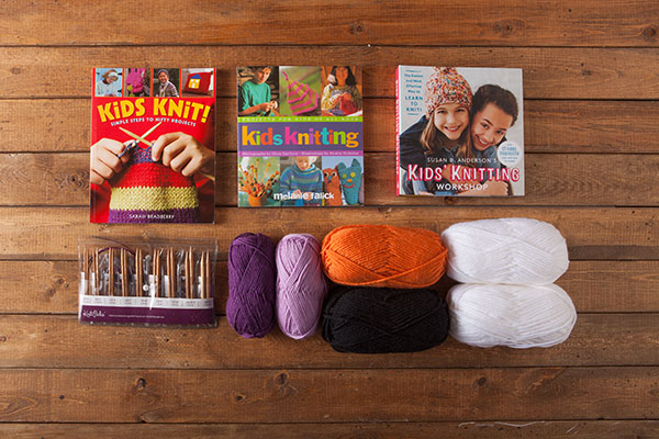 Kid's Knitting Kit