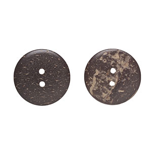 Coconut Buttons, 23mm