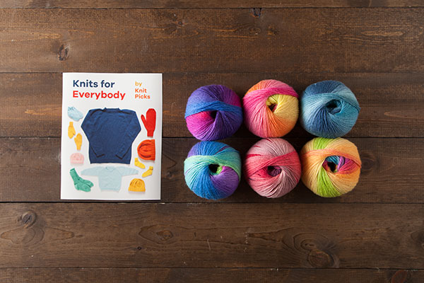 Knits for Everybody Kit - Chroma Fingering
