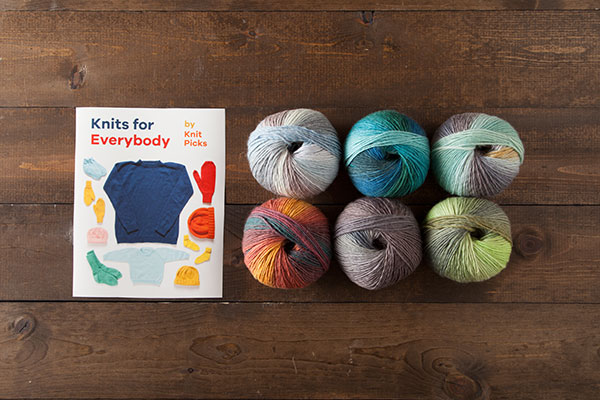 Knits for Everybody Kit - Chroma Worsted