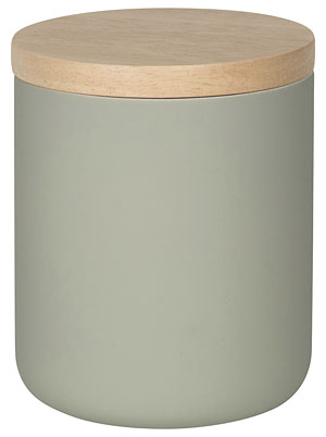 Agate Gray Canister - Medium