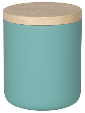 Lagoon Blue Canister - Medium