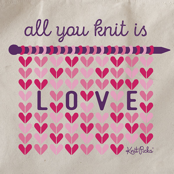 All You Knit is Love - Tote Bag
