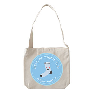 Department of Toasty Toes -Tote Bag