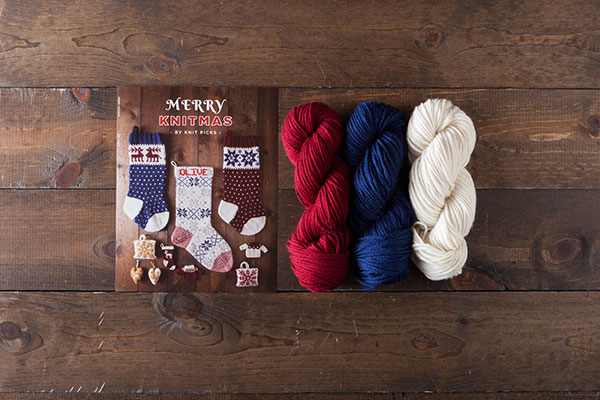 Merry Knitmas Stockings Kit