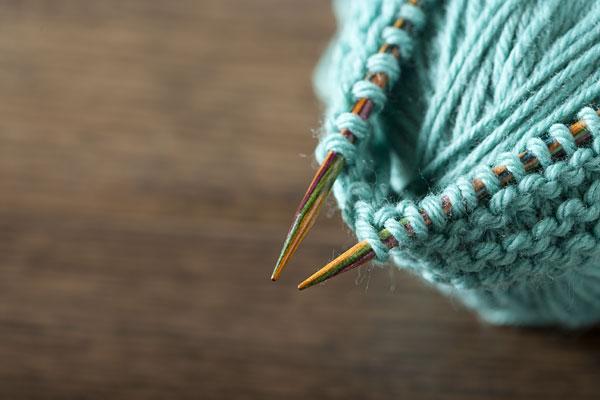 Knitting With Circular Needle : Options interchangeable rainbow wood circular knitting