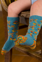 Small Fry Sock Pattern Pattern
