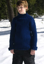 Growing Tween to Teen Outdoors Sweater Pattern