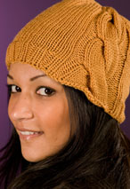 Large Side Cable Hat Pattern Pattern