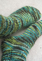 Crossing Paths Socks Pattern Pattern