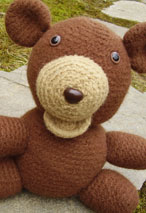 Gerry the Felted Bear Crochet Toy Pattern Pattern
