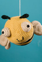 Jonathan the Bee Crochet Toy Pattern Pattern
