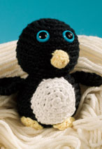 Nobby the Penguin Crochet Toy Pattern Pattern
