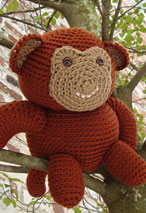 Graeme the Monkey Crochet Toy Pattern Pattern