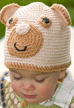 Adorable Bear Crochet Hat Pattern Pattern