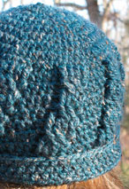 Simple Cable Crochet Hat Pattern