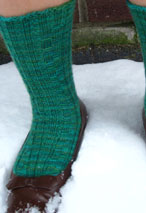 Matchstick Socks Pattern