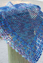 Tropical Breeze Crochet Shawl Pattern