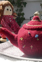 Knitted/Felted Teapot Pattern