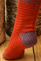 Sunset Folk Socks Pattern