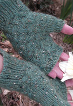 Estesian Fingerless Mitts Pattern