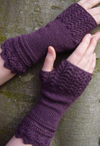 Belladonna Fingerless Mitts Pattern