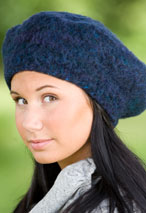 Lucky 7 Felted Beret Pattern